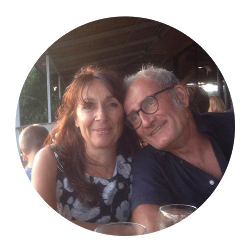 Nathalie et Bernard - La maison d'auriolles